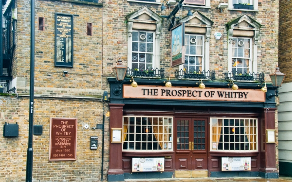 Prospect of Whitby, Wapping