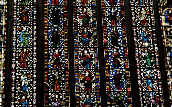 Selby Abbey Jesse Window