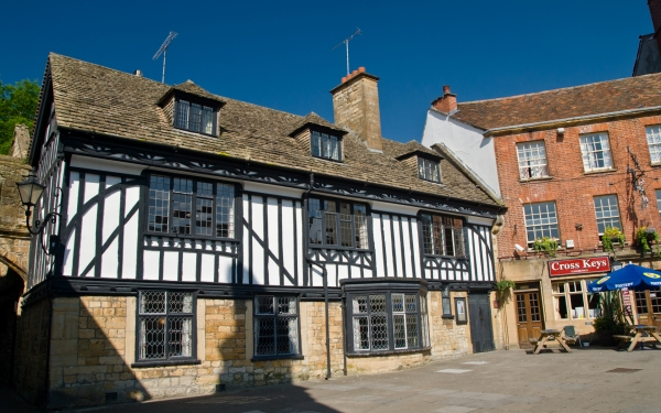 Sherborne timber-framed building