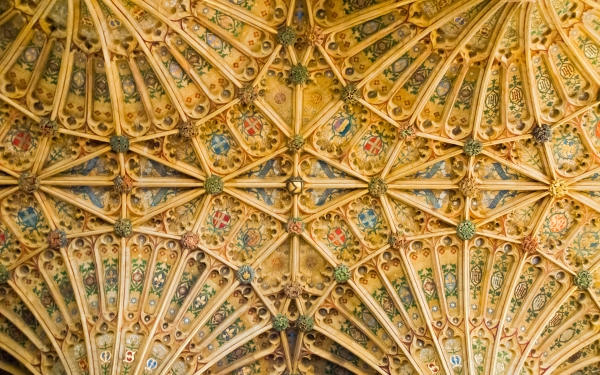 Sherborne Abbey vaulting