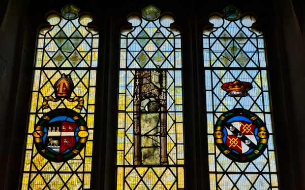 Medieval Stained Glass, Stonesfield