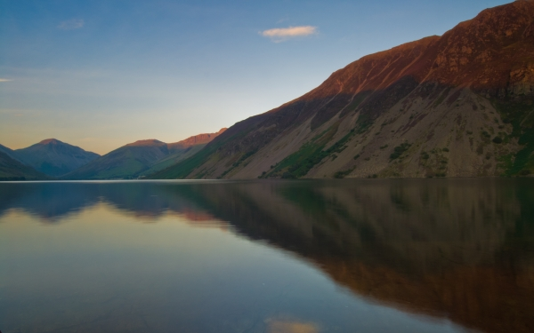 Reflections on Wast Water, Lake District