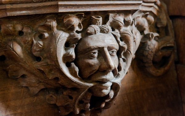 Green Man misericord