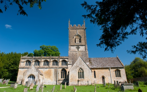 Withington Church, Gloucestershire Cotswolds