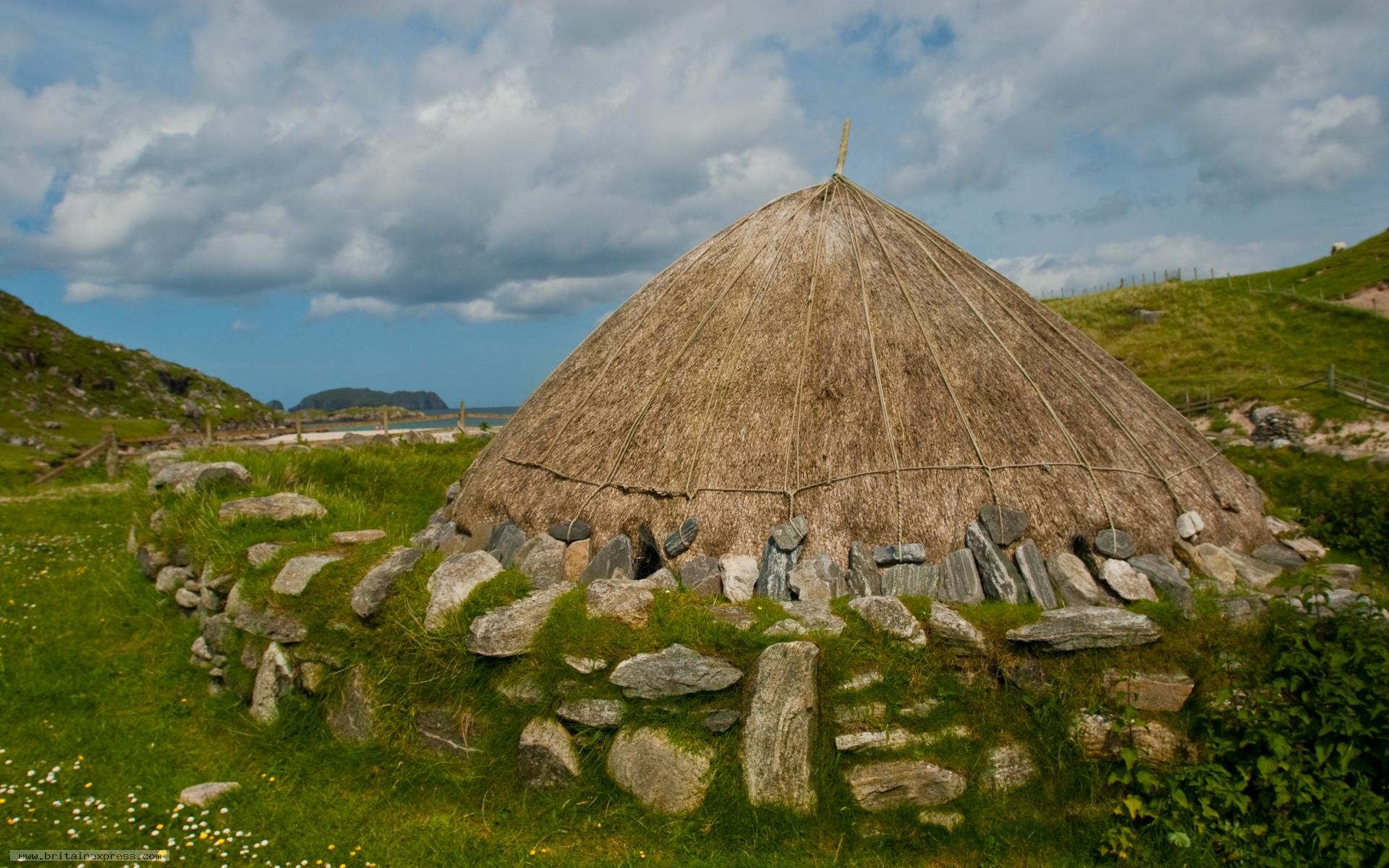 Photo Of Bostadh Iron Age Village Isle Of Lewis