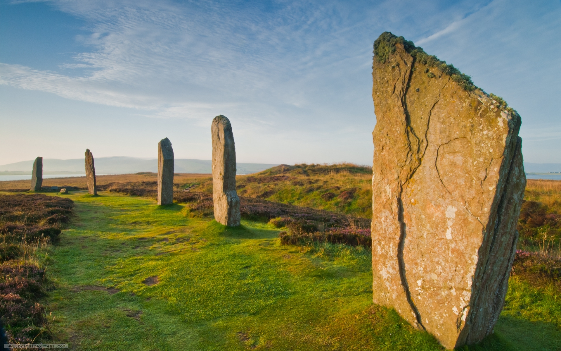 photo of ring of brodgar orkney