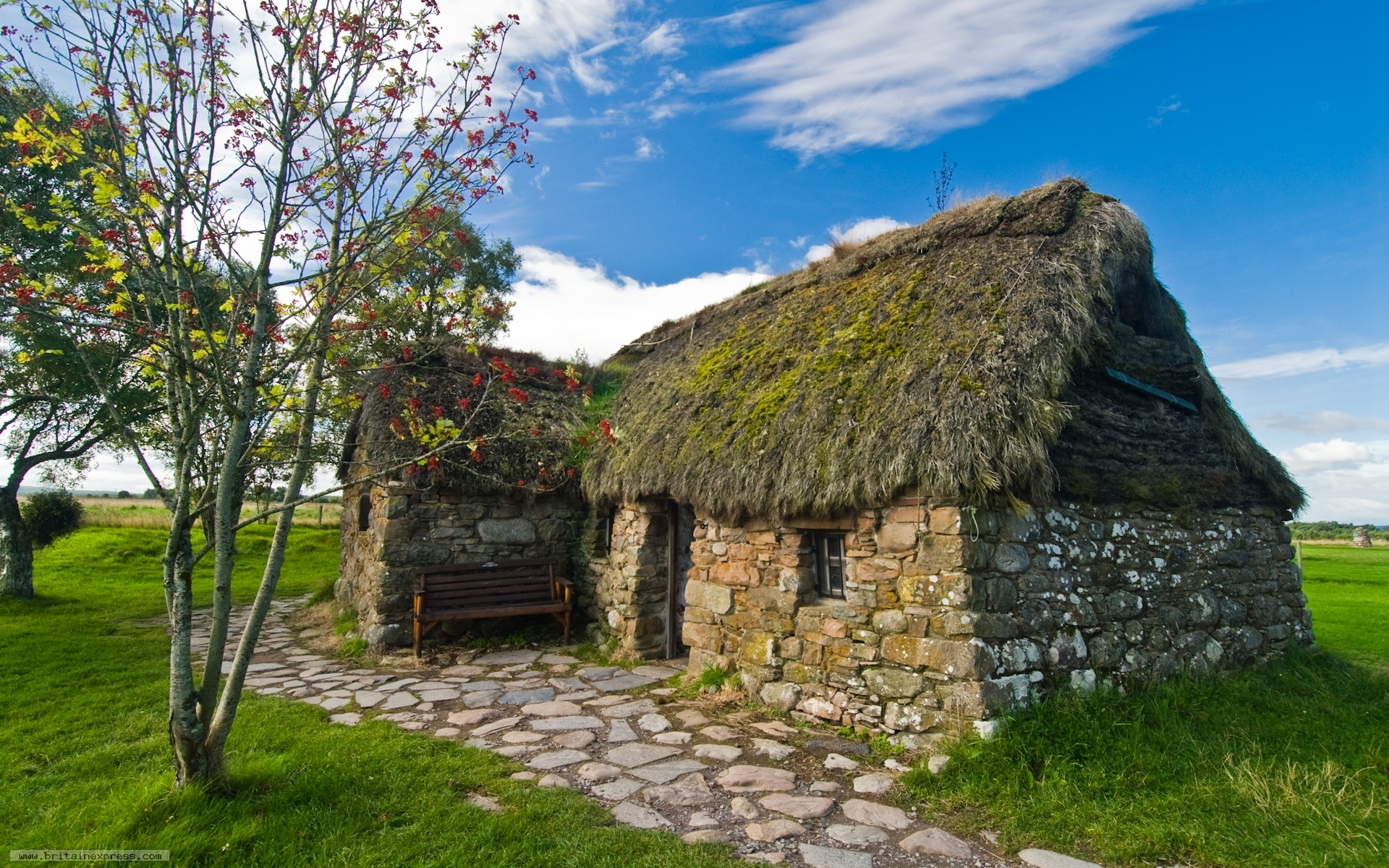 Photo Of Culloden Battlefield Leananch Cottage