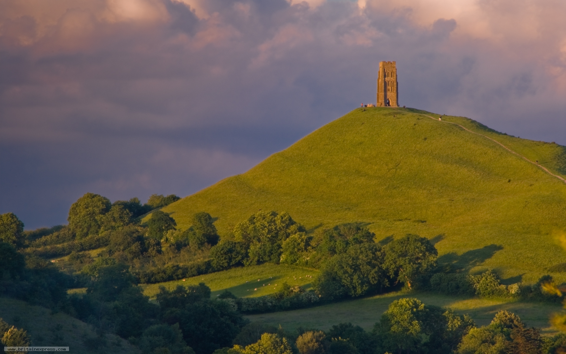 Glastonbury tor wallpaper 48964 - Wallpaper images ...