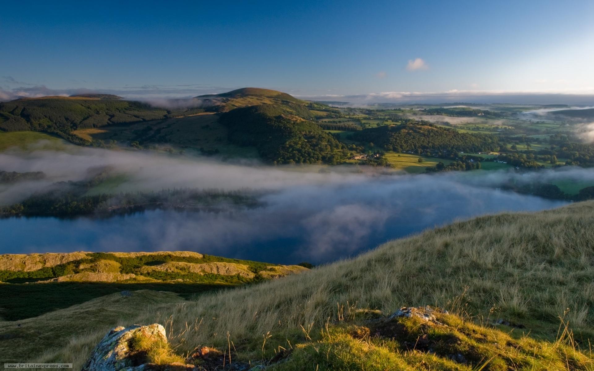 Photo Of Ullswater From Hallin Fell, Lake District