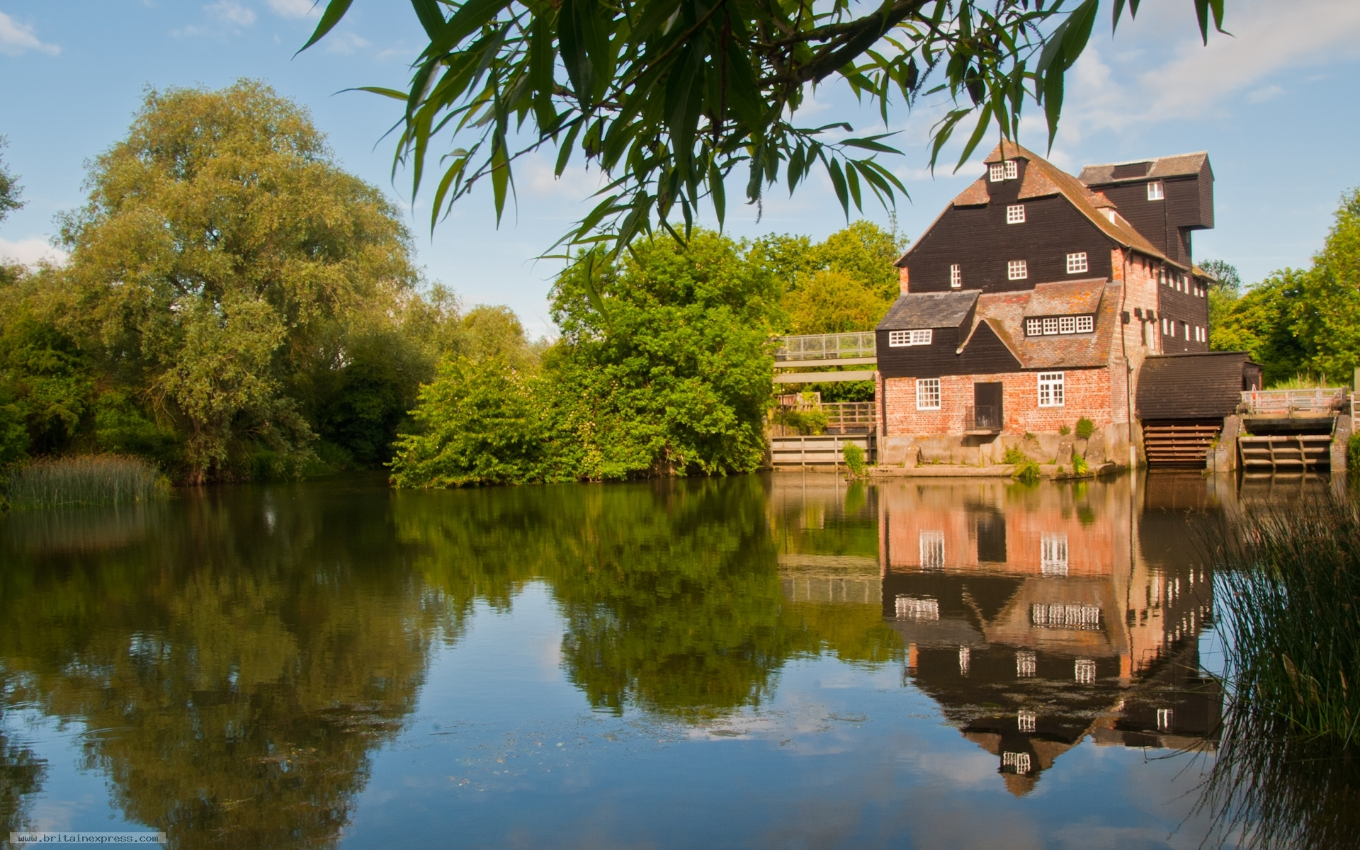 photo of houghton mill cambridgeshire