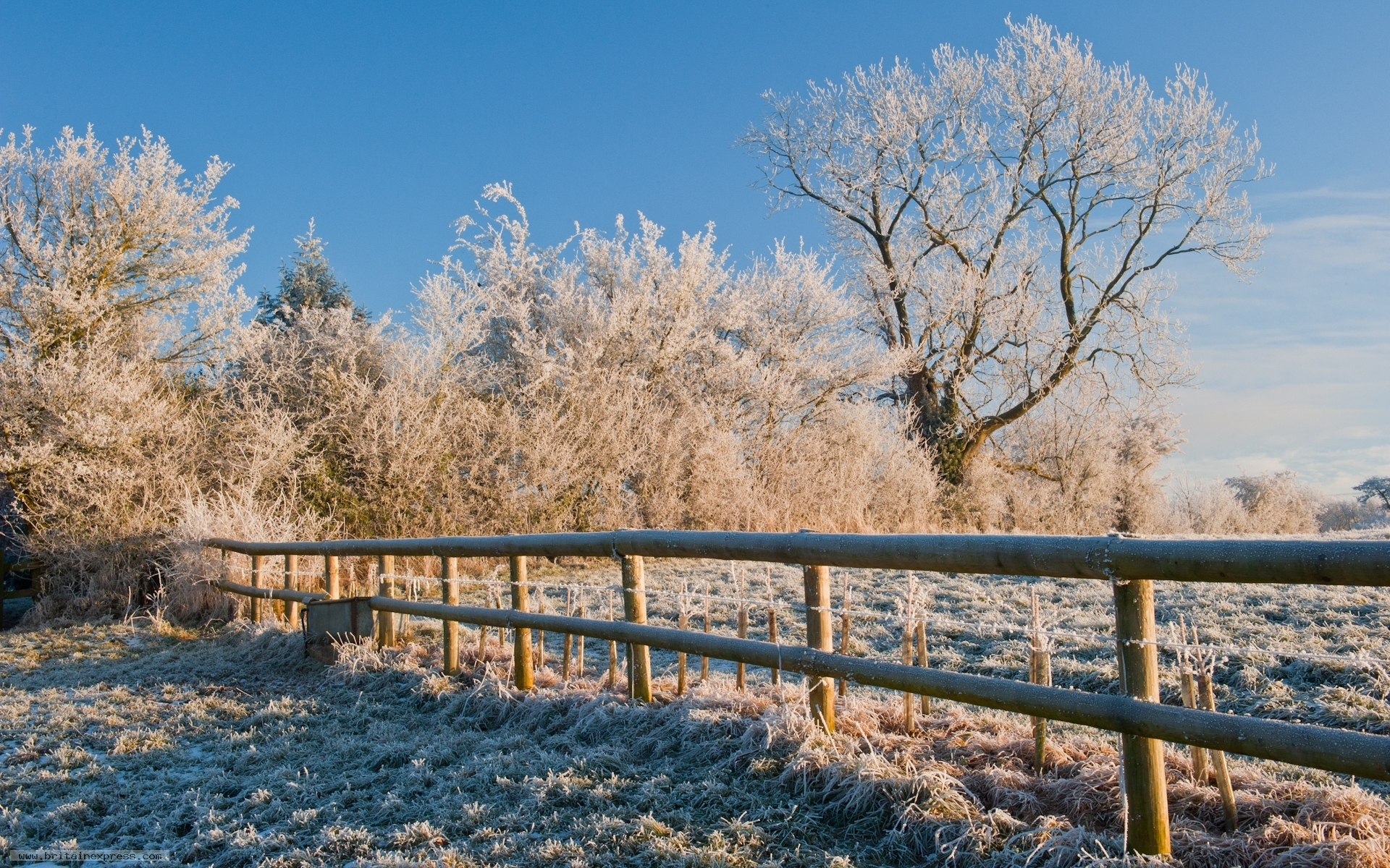 Photo Of Cotswolds Winter Landscape