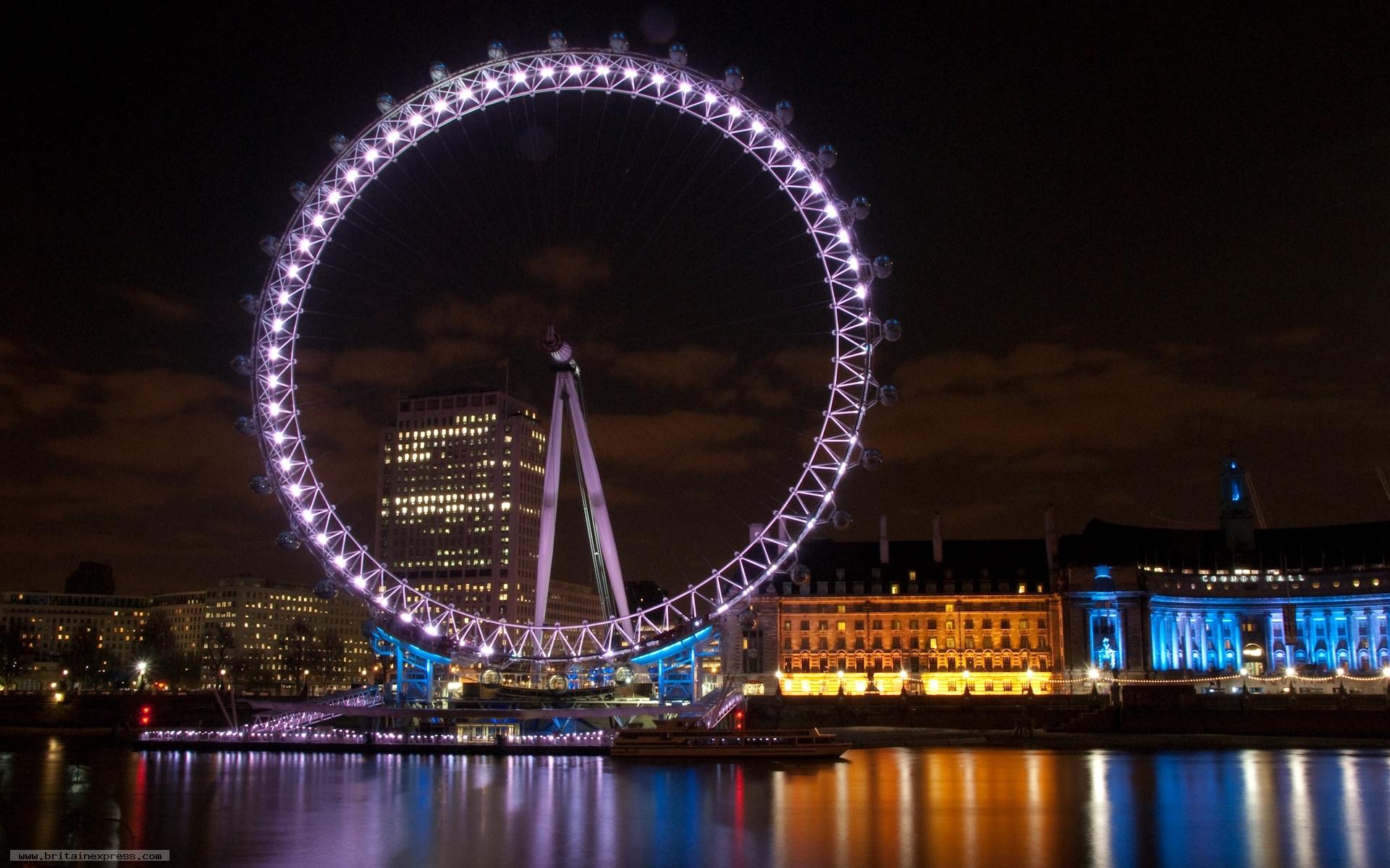 london eye by night -#main
